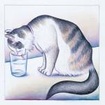 Kitty City 10876_Detail_Cute_Tricks_drinking