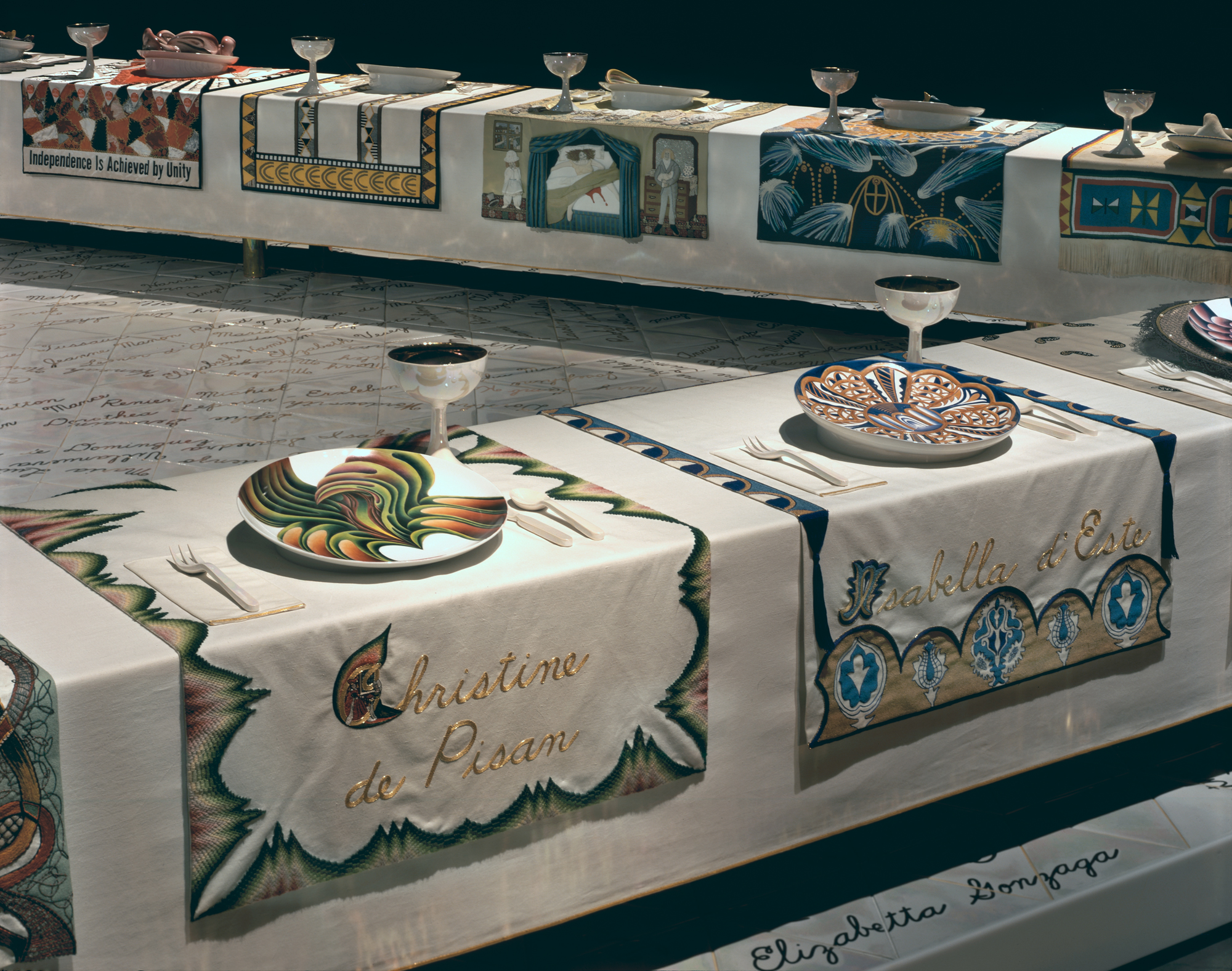 judy chicago dinner party pdf
