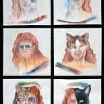 Kitty City 11534_Self_Portrait_Cats