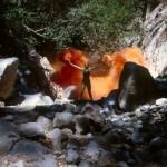 Atmospheres/Fireworks/Dry Ice 11563_Woman_Orange_Flares